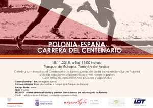 Carrera del Centenario Polonia - España