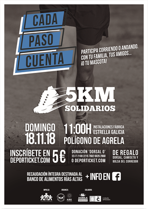 """IV Carrera Benéfica """"5KM Solidarios"""""""