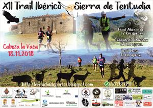 XII Trail Ibérico Sierra de Tentudía