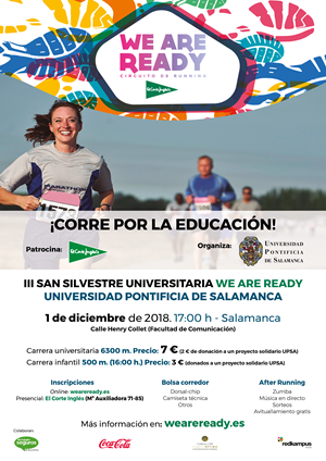 III San Silvestre Universitaria Solidaria We Are Ready UPSA