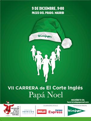 VII Carrera de El Corte Inglés Papá Noel