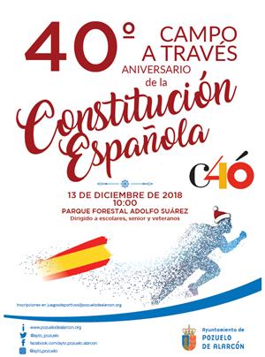 Campo a Través 40º aniversario de la Constitución Española