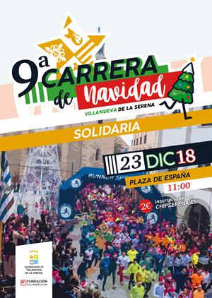 9ª Carrera de Navidad Villanueva de la Serena