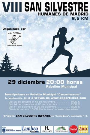 VIII Carrera Popular San Silvestre de Humanes de Madrid