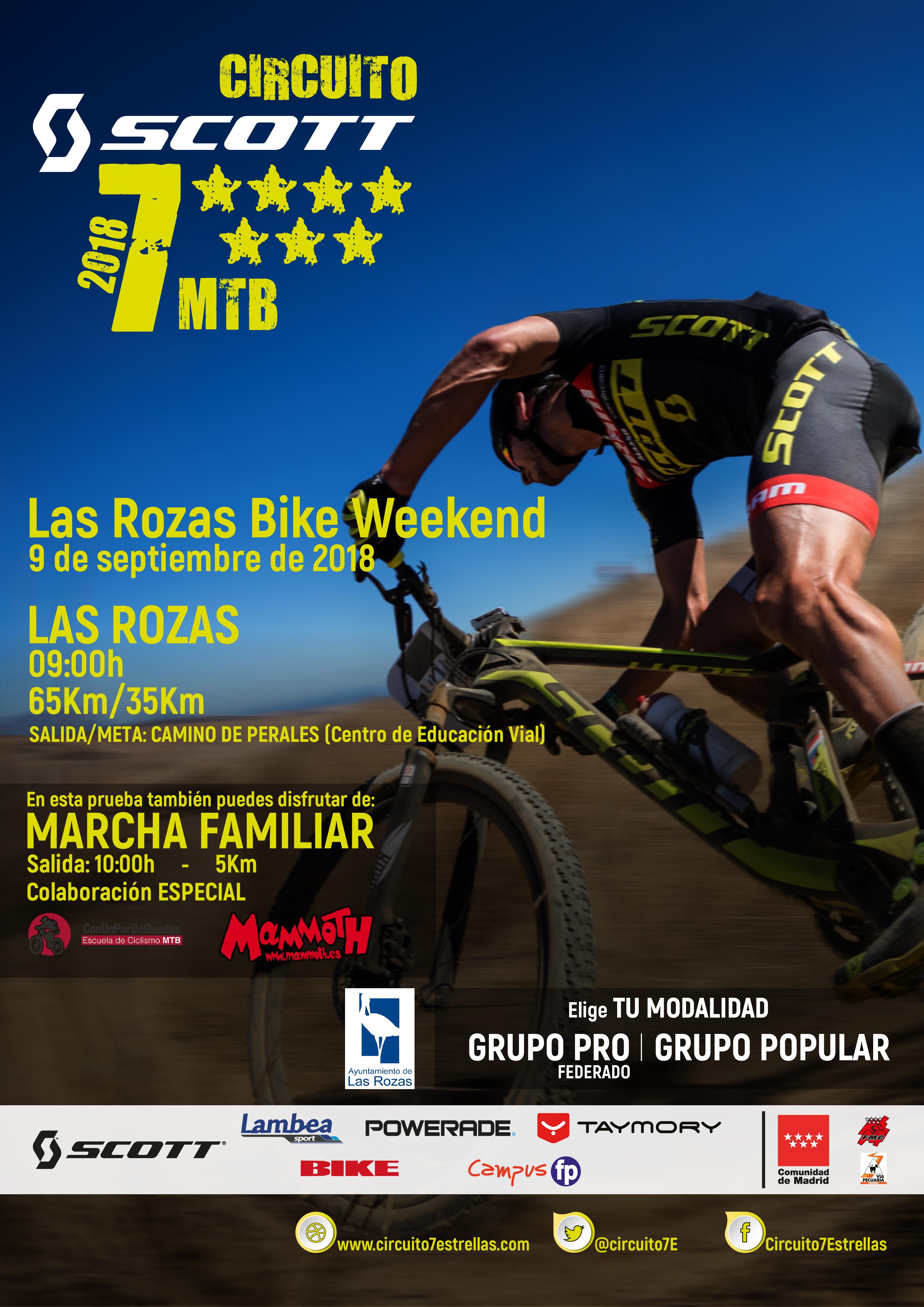 Las Rozas Bike Weekend. MTB 7 Estrellas
