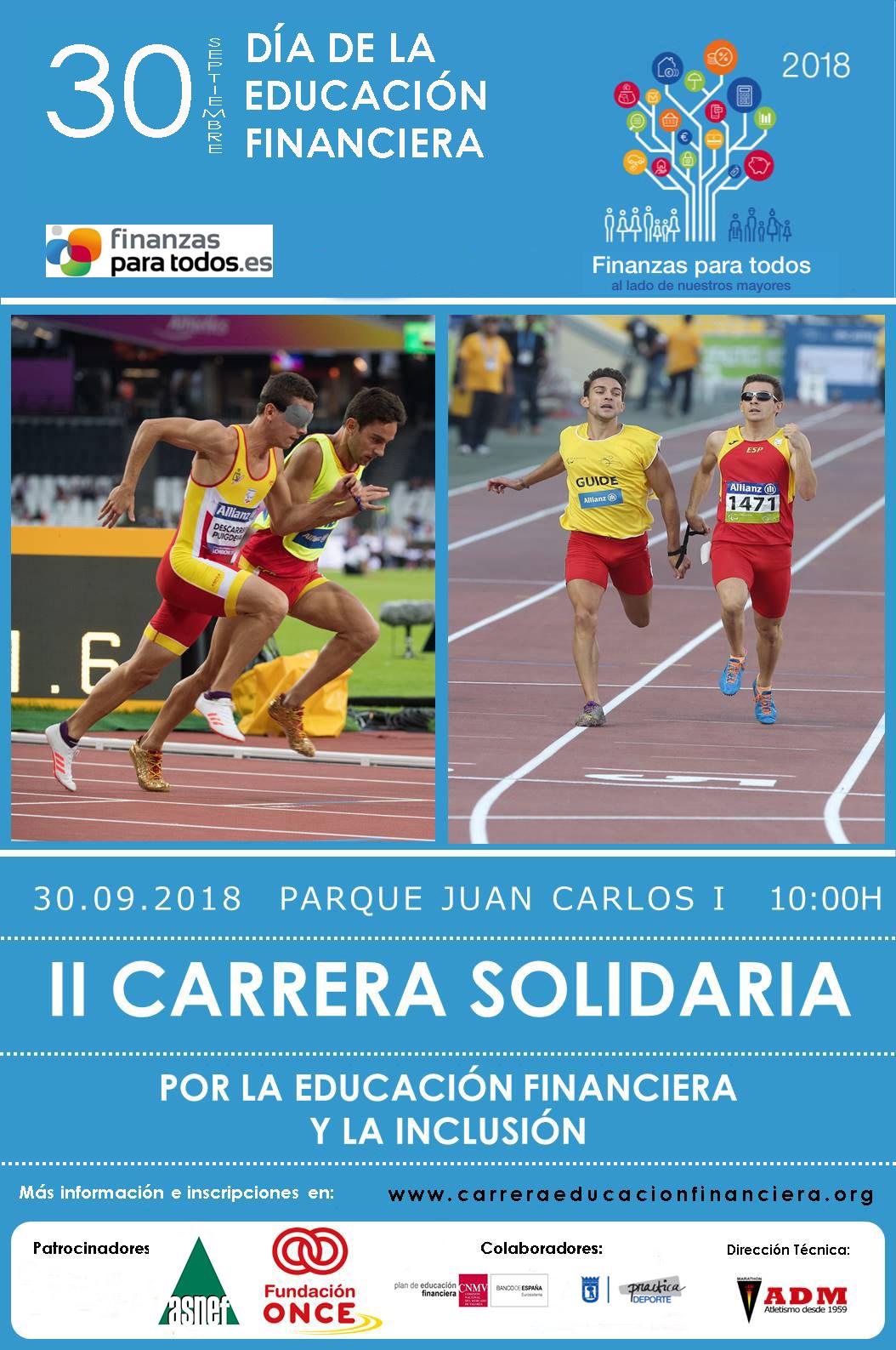 Carrera Solidaria por la Educación Financiera y la Inclusión