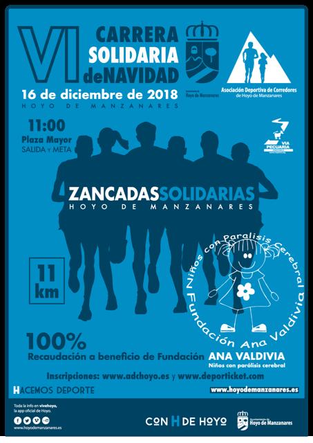 """VI Carrera de Navidad """"Zancadas Solidarias"""""""