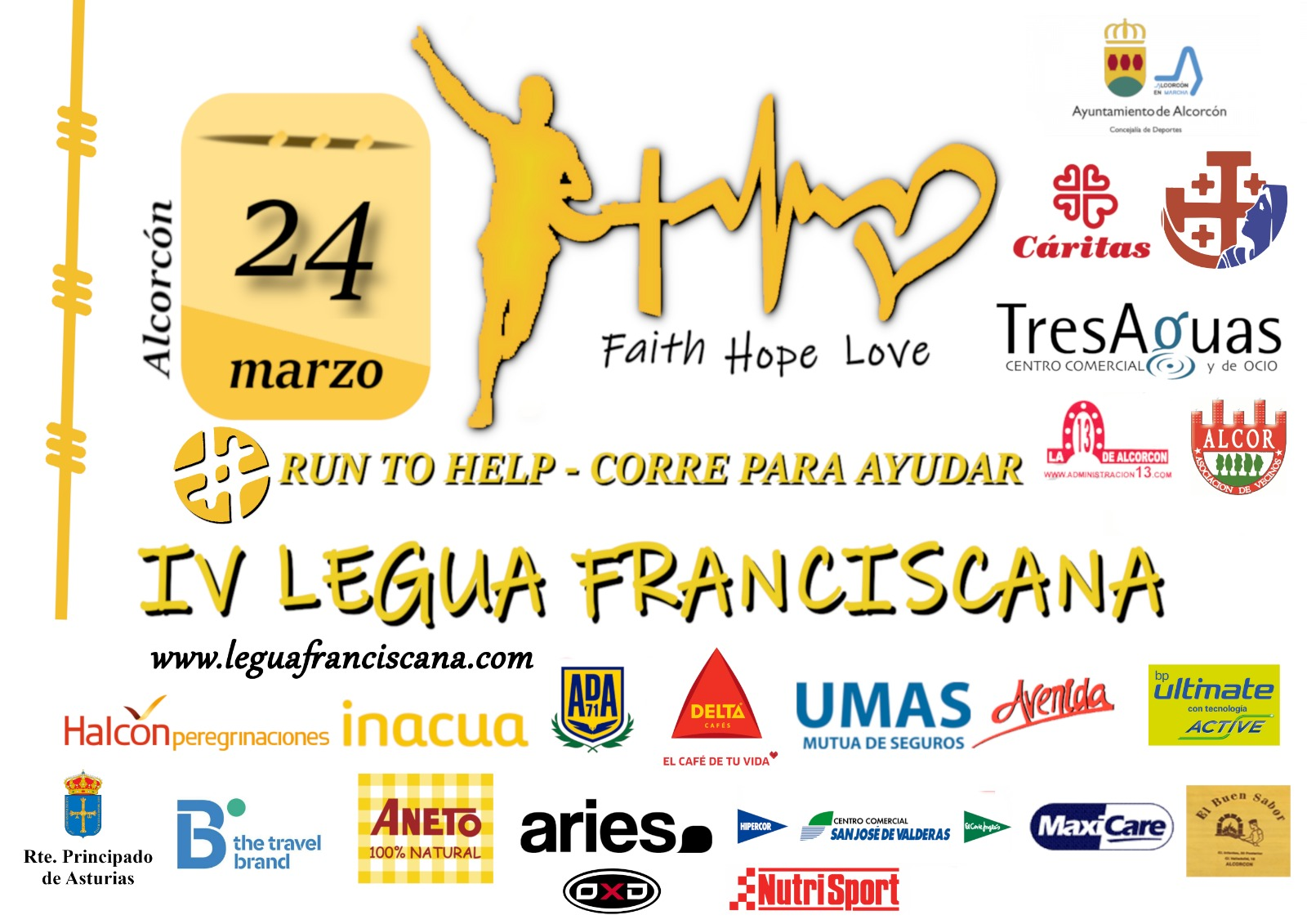 "4ª Carrera Popular ""Legua Franciscana Solidaria"""