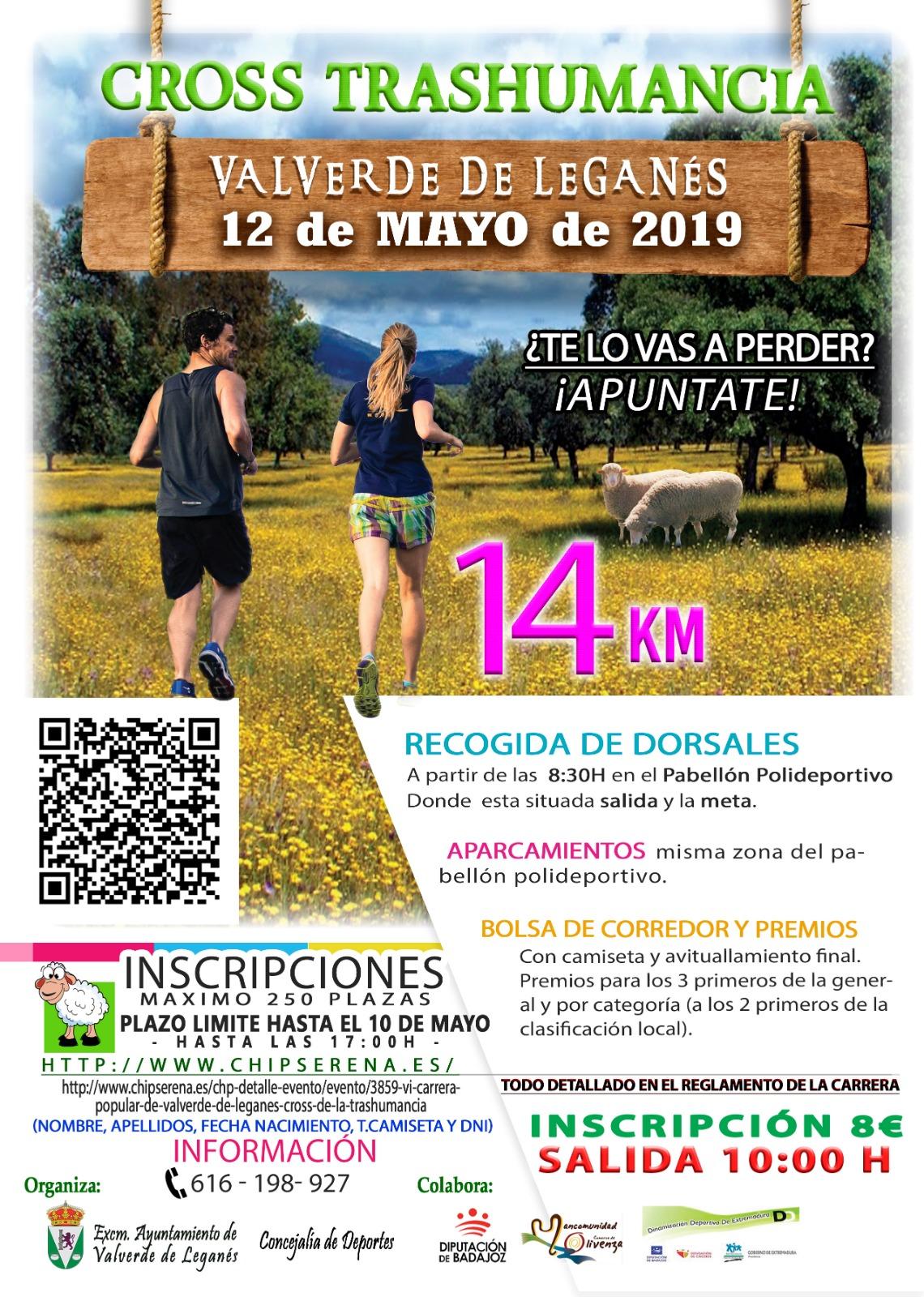 VI Carrera Popular de Valverde de Leganés (Cross de la Trashumancia)