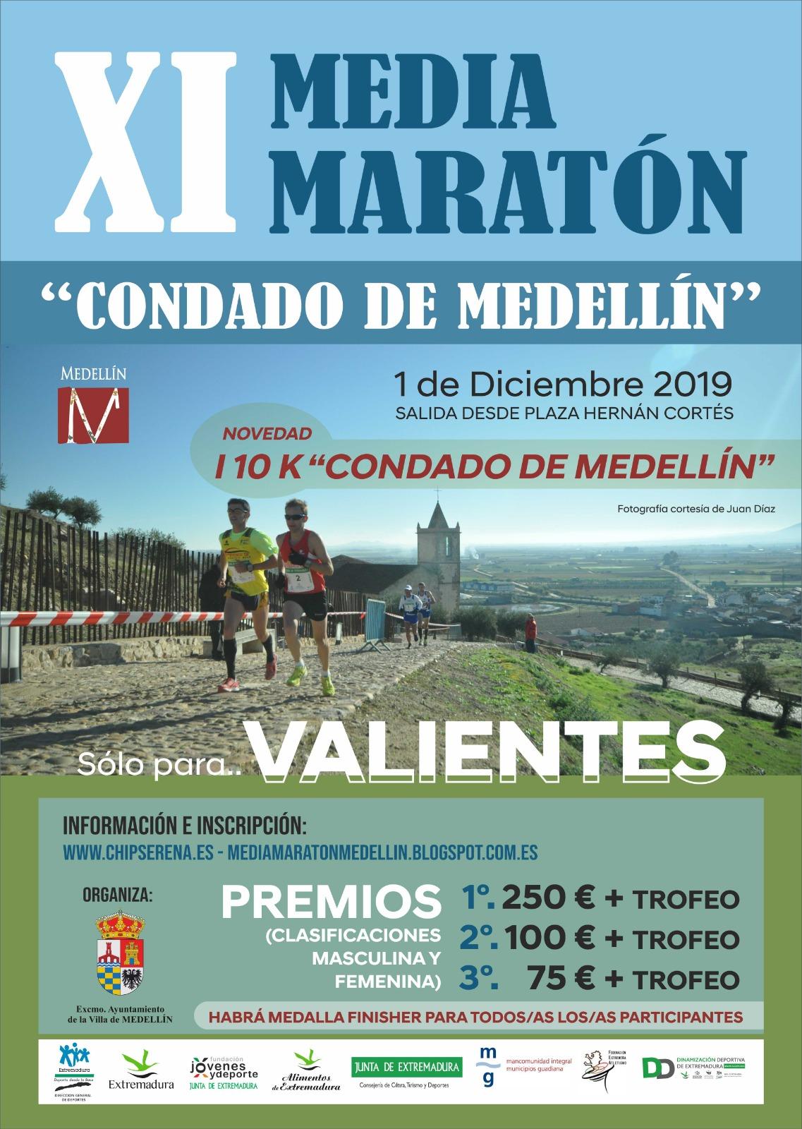 XI Media Maratón Condado de Medellín