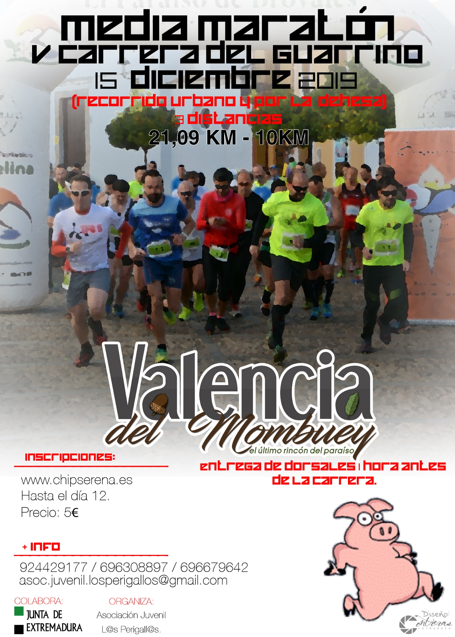 Media Maratón y V Carrera del Guarrino