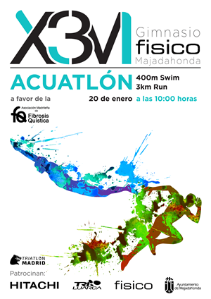 II Acuatlón X3M 2019