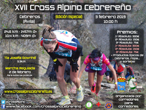 Lista de Espera. 24 km y 1457m desnivel+. XVII Cross Alpino Cebrereño