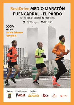 Media Maratón de Fuencarral - El Pardo 2019