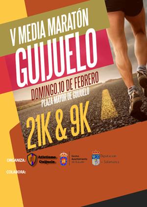 V Media Maratón de Guijuelo y III Vuelta a Guijuelo