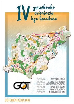 IV Gipuzkoako Orientazio Liga - Ametzagaina / IV Liga GOL de Orientación de Gipuzkoa - Ametzagaina
