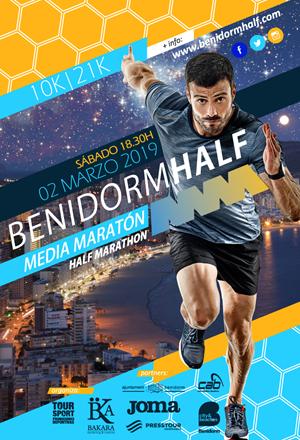Media Maratón Internacional + 10 Km de Benidorm 2019