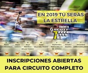 Circuito SCOTT 7 Estrellas Comunidad de Madrid 2019