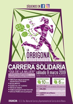 """Carrera Solidaria """"La Orbigona"""""""