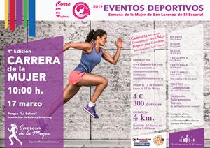 IV Carrera de la Mujer 2019 San Lorenzo de El Escorial