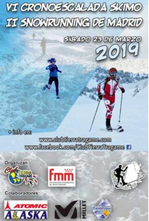 VI Cronoescalada de Esquí de Montaña y II Snowrunning Tierra Trágame