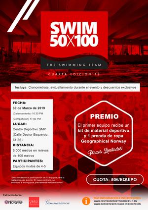 Swim 50x100