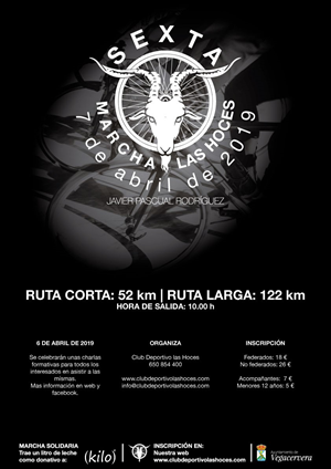 6ª Marcha Ciclista Las Hoces / Javier Pascual