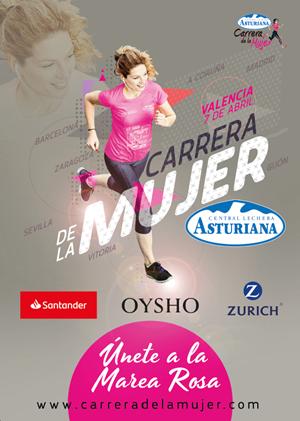 Carrera de la Mujer Central Lechera Asturiana 2019. Valencia