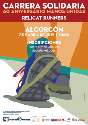 "Carrera Solidaria ""ReliCat Runners"" 60º Aniversario Manos Unidas"
