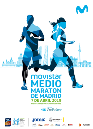 Movistar Medio Maratón de Madrid SOLIDARIO 2019