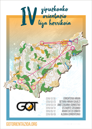 IV Gipuzkoako Orientazio Liga - Oñati / IV Liga GOL de Orientación de Gipuzkoa - Oñate