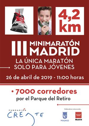 SOLICITUD Colegios para el III MiniMaratón Madrid