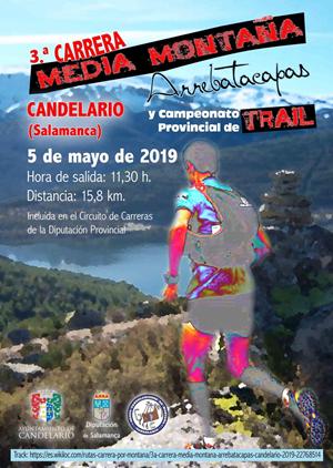 III Carrera de Media Montaña Arrebatacapas Candelario