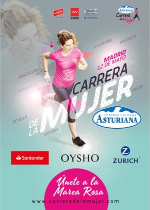 Carrera de la Mujer Central Lechera Asturiana 2019. Madrid