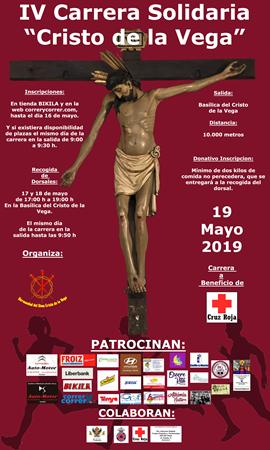 """IV Carrera Solidaria """"Cristo de la Vega"""""""