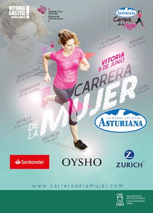 Carrera de la Mujer. Central Lechera Asturiana. Vitoria-Gasteiz