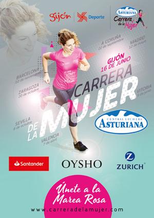 Carrera de la Mujer Central Lechera Asturiana 2019. Gijón
