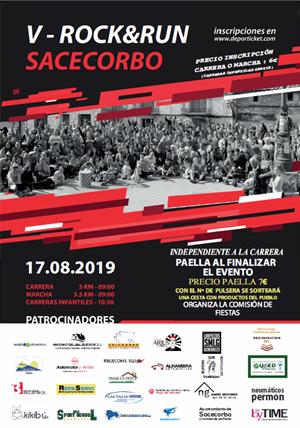 "5º Sacecorbo ""Rock & Run 2019"""