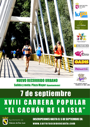 """XVIII Carrera Popular """"El Cachón de la Isla"""""""