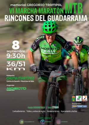 VI Marcha MTB Moskito Bikers. Rincones del Guadarrama. Memorial Gregorio Trampal
