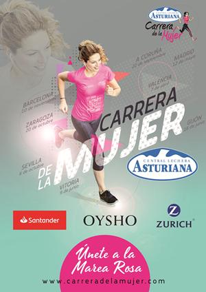 Carrera de la Mujer Central Lechera Asturiana 2019. A Coruña
