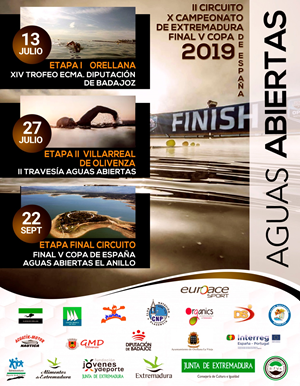 II Circuito Campeonato de Extremadura / V Copa de España de Aguas Abiertas. El Anillo