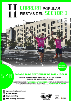 II Carrera Popular Fiestas del Sector 3