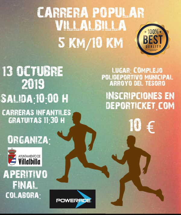 Carrera Popular Villalbilla 2019