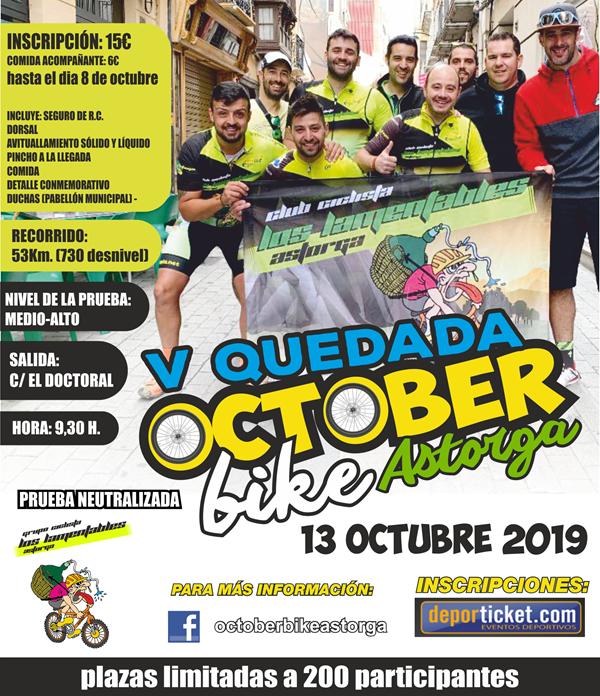 V October Bike Astorga