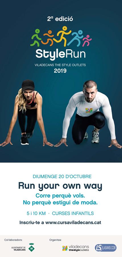 2ª Cursa Style Run. Oferta Dorsal + suscripción