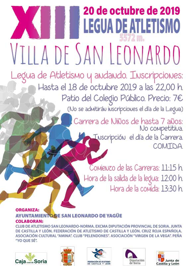 XIII Legua de atletismo Villa de San Leonardo