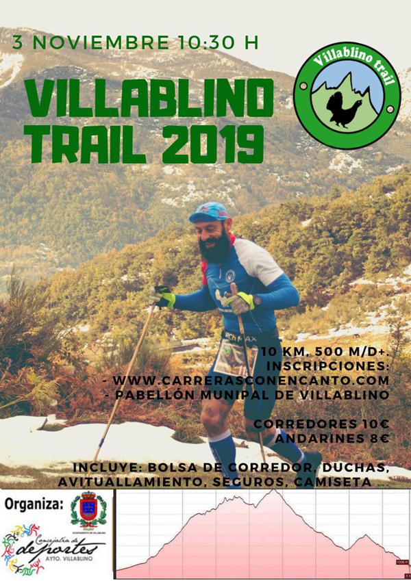 Villablino trail
