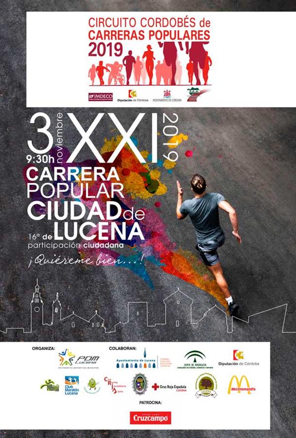 XXI Carrera Popular Urbana y 16ª Carrera de Participación Ciudadana de Lucena