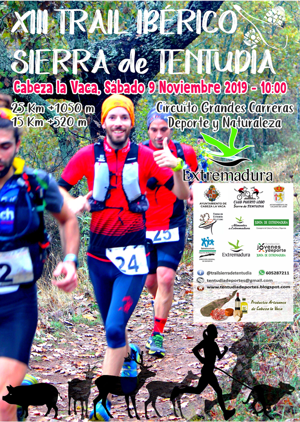 XIII Trail Ibérico Sierra de Tentudía